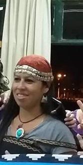 """Lorena Guaiquián: """"la militancia social, política partidaria y por mi identidad mapuche fue a la par"""""""