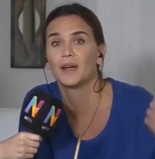 La invitación de una ginecóloga a Amalia Granata para vivir un día en un hospital