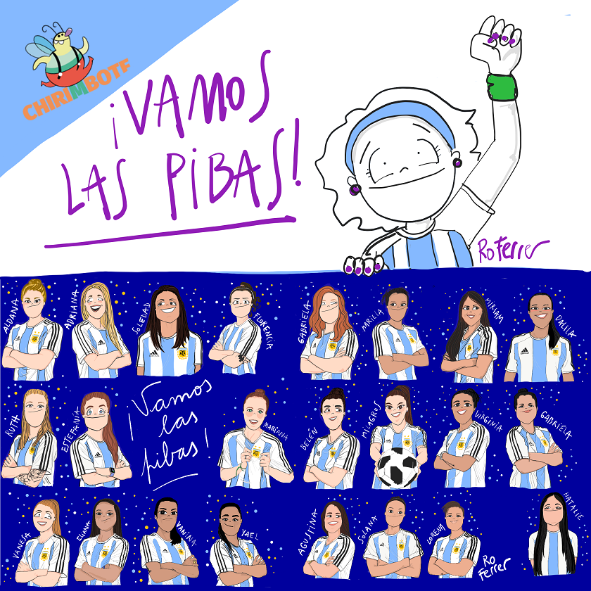 #VamosLasPibas