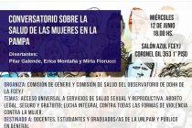 Conversatorio: La Salud de las Mujeres en La Pampa