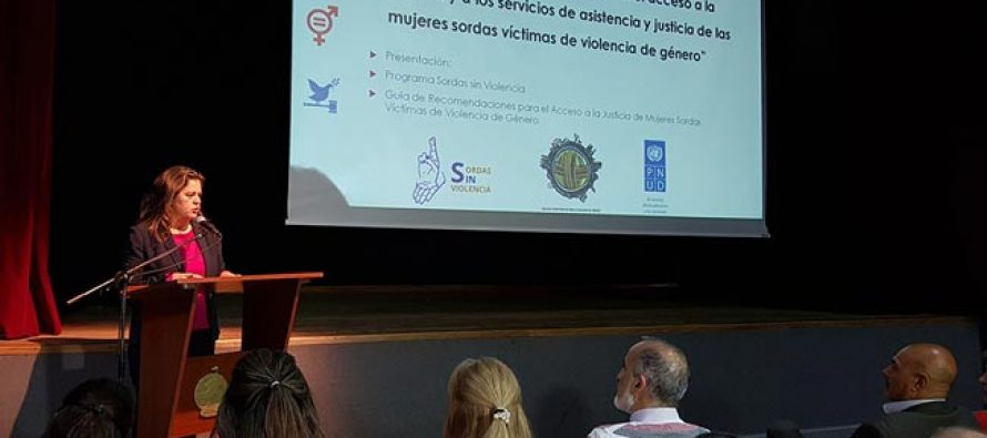 Realizaron capacitación en prevención de violencia de género a mujeres sordas