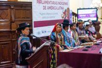 """Primer Encuentro de Parlamentarias Indígenas de América Latina puso el foco en """"la lucha contra las violencias"""""""
