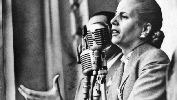 Evita y la construcción de poder feminista y popular