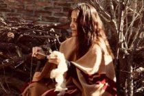 Guillermina Cabral, la tejedora pampeana que aparecerá en Vogue