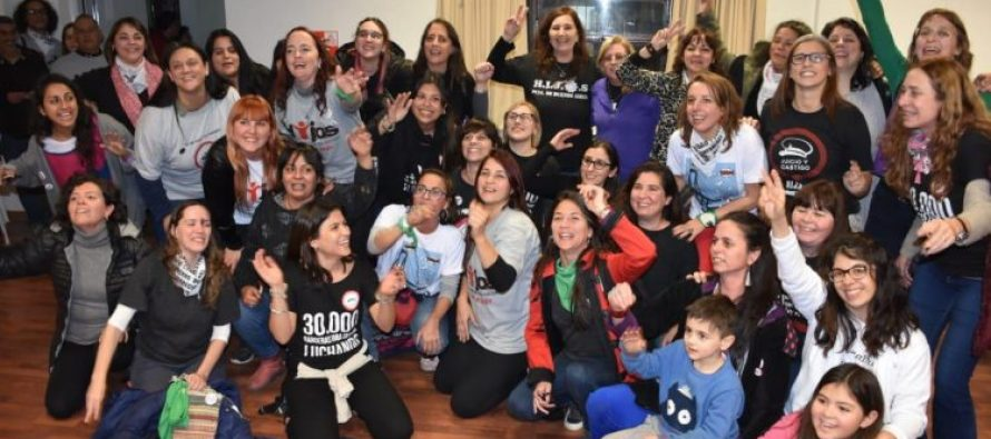 La Ola feminista llegó a H.I.J.O.S