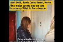 María Eugenia Vidal hizo campaña con una víctima de violencia de género y la cruzaron en las redes