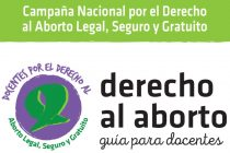 Docentes por el Derecho al Aborto. Guía para descargar