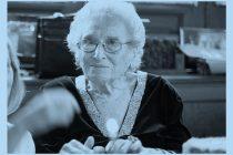 Reconocimiento a Rosa Tarlovski, una luchadora por los derechos humanos