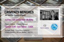 Presentación del libro de Sandra Miguez en Buenos Aires