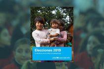 Elecciones 2019. La deuda es con la niñez y la adolescencia