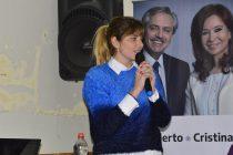 Carmina Besga: «Nos queremos gobernando y construyendo la Patria que soñamos»