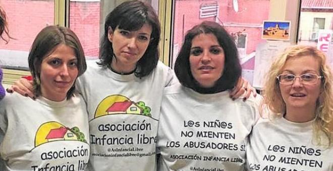 """La expresidenta de Infancia Libre denuncia la """"criminalización"""" de las mujeres que """"defienden los derechos de sus hijos"""""""