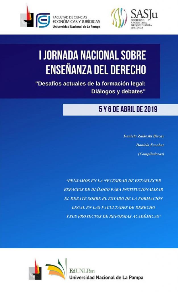 """Enseñanza del Derecho: """"Desafíos Actuales de la Formación legal: Diálogos y debates"""""""