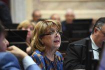 La Banca de la Mujer del Senado se expresó por el caso Alperovich