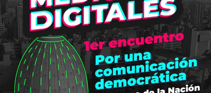 1° Encuentro de la Red de Medios Digitales. Por una comunicación democrática