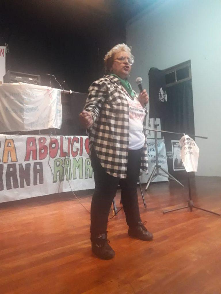 """Delia Escudilla: """"repudio y hago un llamamiento al Ministerio de la Mujer y Diversidades para saber qué van a hacer con esa barbaridad"""""""