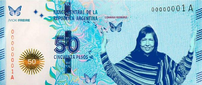 Proponen a Azucena Villaflor, Juan Azurduy, Lohana Berkins como caras de los nuevos billetes