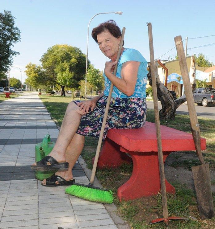 La jardinera de la Spinetto