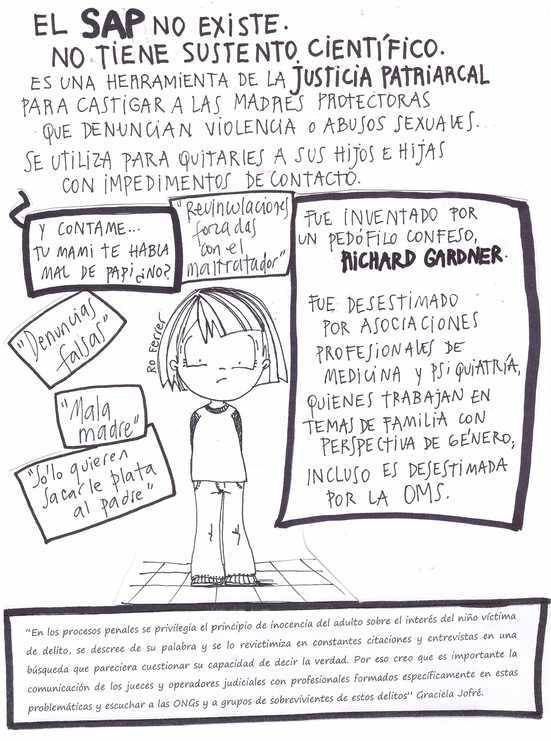 """El """"mito"""" de la madre maliciosa: el síndrome inexistente que se coló en los juzgados"""