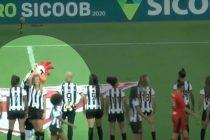 Atlético Mineiro echó a su mascota por gestos machistas con una futbolista