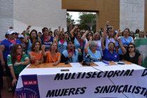 Presentaron la Multisectorial de Mujeres Sindicalistas