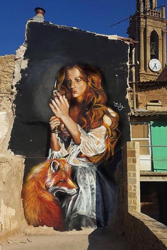 Lily Brik: el muralismo tiene nombre de mujer