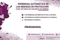 Campaña #NoEstásSola de la Defensoría General de la Nación para combatir la Violencia de Género