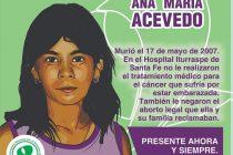 13 años sin Ana María Acevedo