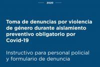 Nuevo protocolo de actuación en casos de Violencia de Género, para garantizar el acceso a la justicia en el contexto del COVID 19