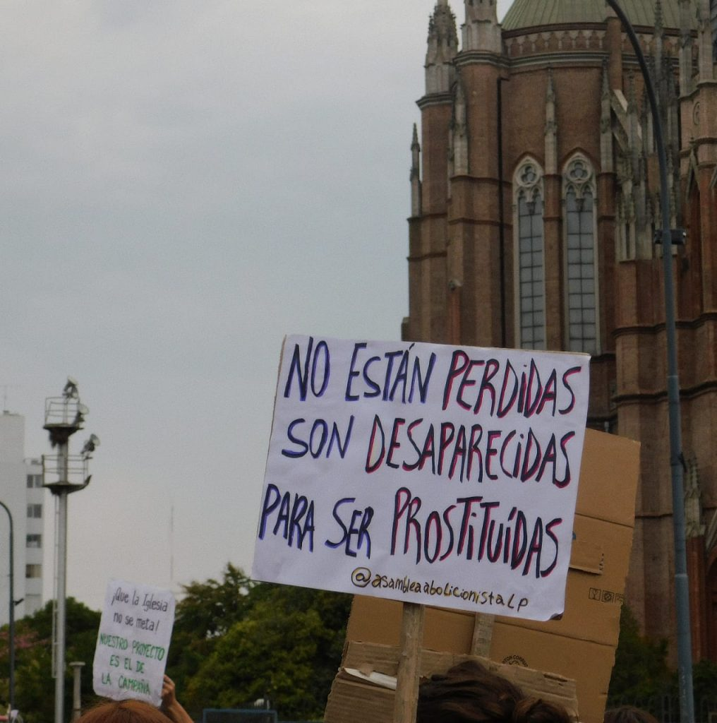 Campaña para la inclusión de la Prostitución en el Plan contra las violencias de género