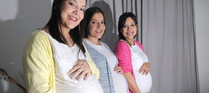 Tres hermanas serán madres en la misma semana