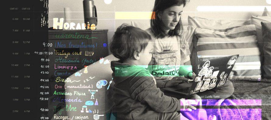 Lejos del 50 y 50: las mujeres con hijos hacen más tareas domésticas que sus parejas