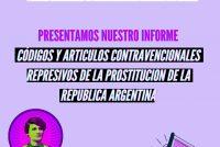 La Raquel -11 de julio, Día de la Lucha Antirrepresiva: Códigos y artículos contravencionales represivos de la prostitución