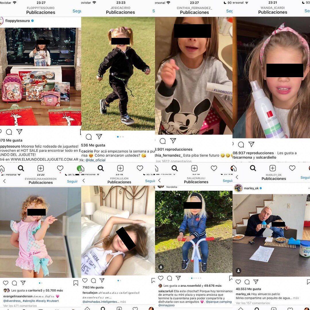 La sobrexposición de las infancias en redes sociales