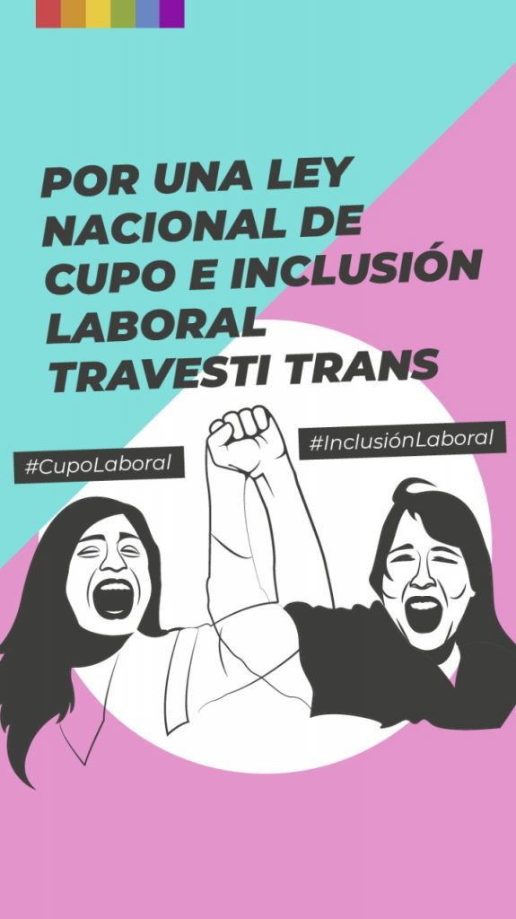 """Acordaron unificar proyectos para que sea realidad el """"Cupo e Inclusión Laboral Trans"""""""