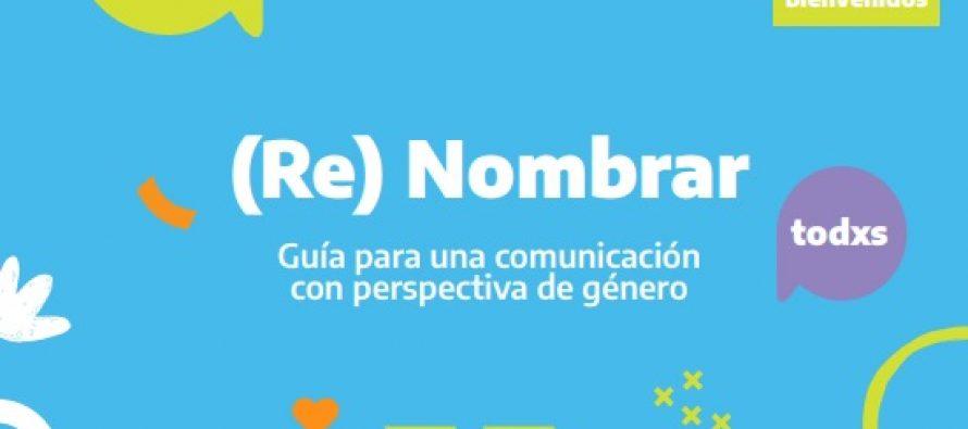 Guía para una comunicación con perspectiva de género del Ministerio de las Mujeres…
