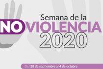 Actividades en la Semana de la No Violencia
