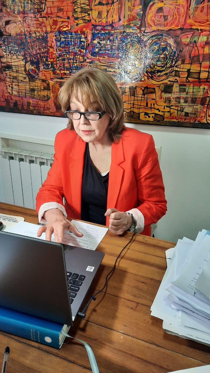 """Senadora Durango """"Las mujeres debemos gozar del derecho pleno a la soberanía sobre nuestros cuerpos"""""""
