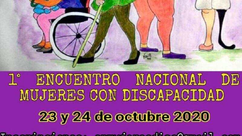 Se viene el Primer Encuentro Nacional de Mujeres con Discapacidad