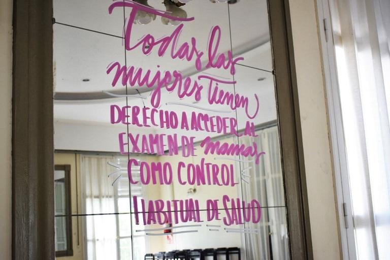 El Concejo Deliberante se suma a la campaña de concientización sobre el cáncer de mama