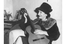 Una mujer escondida en un nombre de hombre: «Pablo del Cerro», coautora de 65 temas de Atahualpa Yupanqui