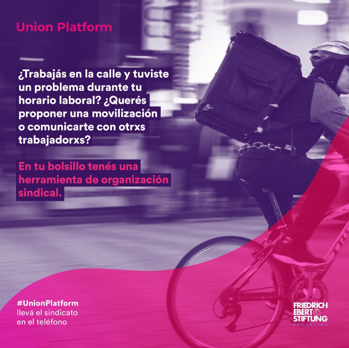 Union Platform. La app sobre derechos laborales