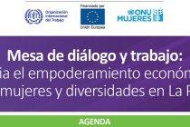 Mesa de diálogo y trabajo: Hacia el empoderamiento económico de las mujeres y diversidades