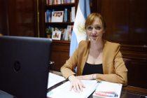 Fernández Sagasti será la presidenta del PJ en Mendoza
