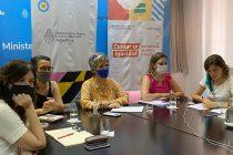 Reunión con centrales sindicales para debatir el anteproyecto de ley por un Sistema Integral de Cuidados con Perspectiva de Género