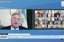 Lovera logró el consenso en el Senado para el dictamen del proyecto sobre movilidad jubilatoria