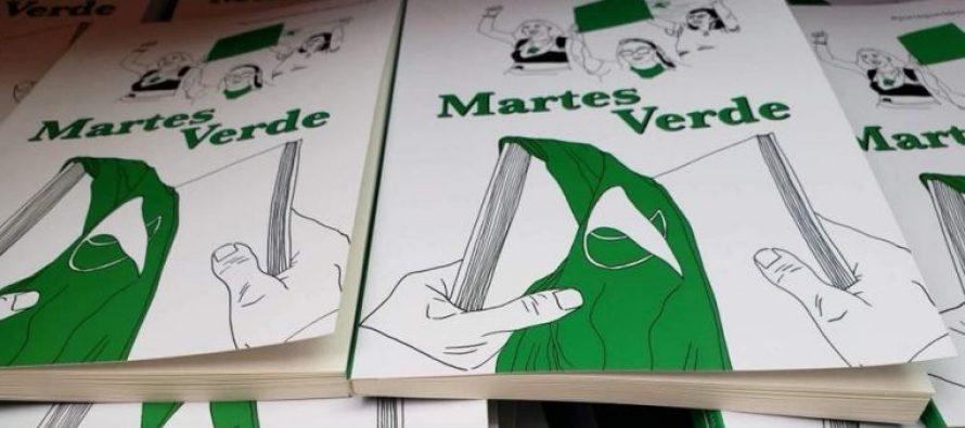 """El libro digital """"Martes Verde"""" lleva más de dos mil descargas"""