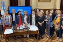 La Banca de la Mujer se suma al reclamo por los femicidios