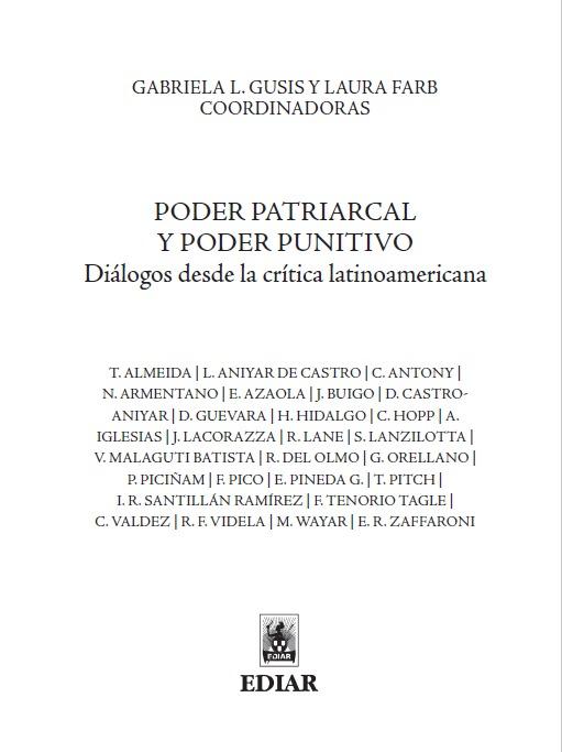 Poder patriarcal y poder punitivo