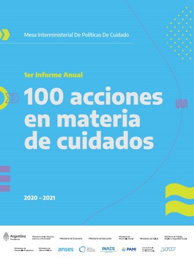 100 acciones en materia de cuidados